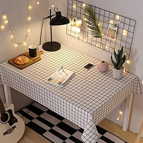sans_marque Mantel impermeable, resistente al aceite y a prueba de derrames, cubierta de escritorio resistente a las manchas y lavable, utilizado para mesa de cocina de picnic al aire libre 40 x 60 cm