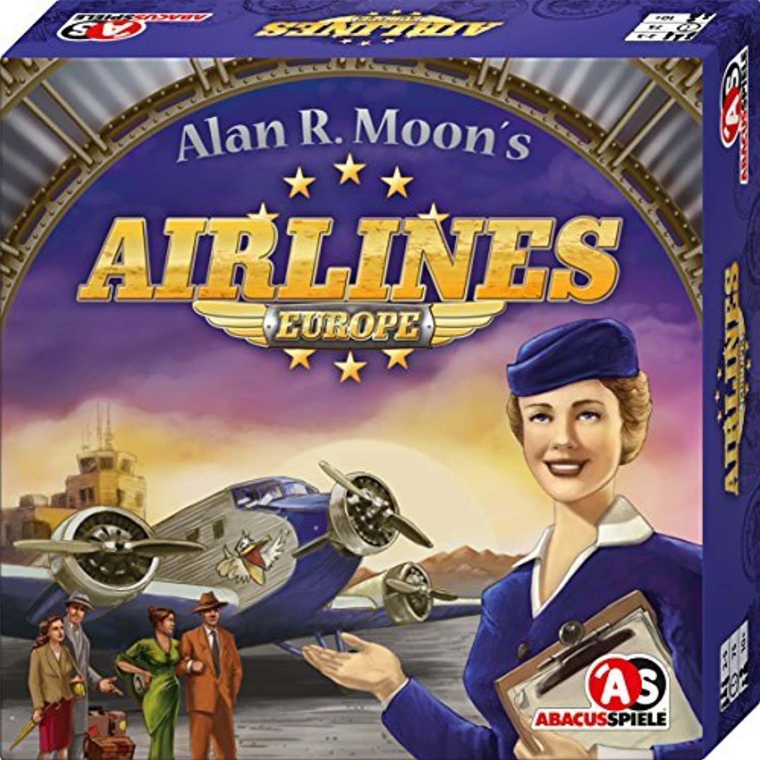 ¡envío gratis! Abacus Abacus Abacus Spiele ABA03111 Airlines Europe Juego by Abacus Spiele  ahorra 50% -75% de descuento