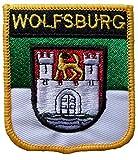 1000 Flaggen Wolfsburg Deutschland Schild Bestickt Patch Abzeichen