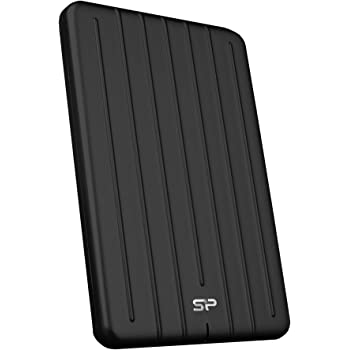 Silicon Power 1TB 3D NAND TLC Rugged Portable External SSD USB 3.1 Gen 2 (USB3.2) with USB-C to USB-C/USB-A Cables, Ideal for PC, Mac, Xbox and PS4, Bolt B75 Pro