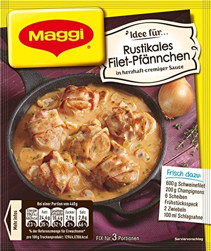 Maggi fix & frisch Rustikales Filet-Pfännchen, Beutel, ergibt 3 Portionen