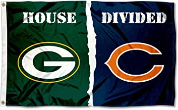 WinCraft Green Bay Packers and Chicago Bears House Divided Flag