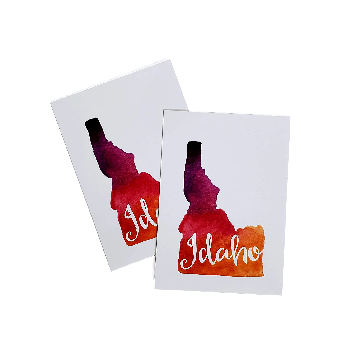 Idaho High quality new tag water Boston Mall color 6 tags eco-friend gift letterpress pack