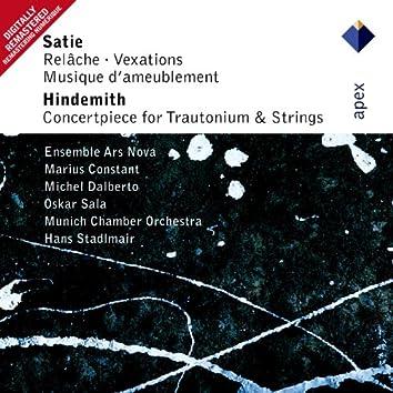Satie : Cinéma, Sonnerie & Vexations  -  Apex