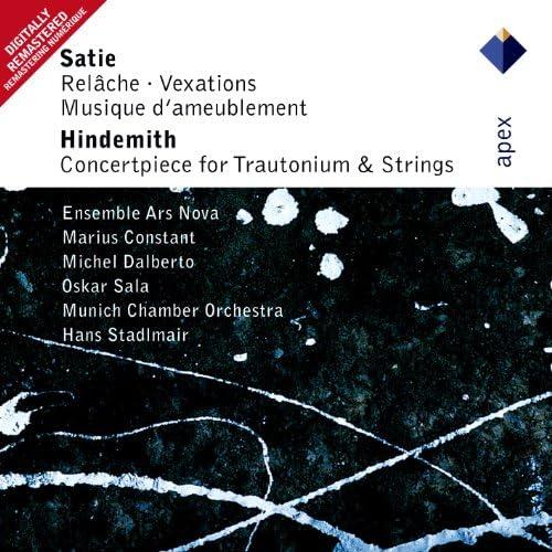 Michel Dalberto, Marius Constant & Ensemble Ars Nova