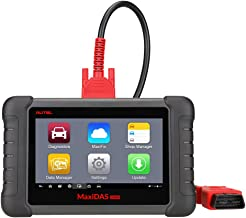 Autel DS808 MaxiDAS Bi-Directional Automotive OBD2 Scanner Diagnostic Tool with Active Test, Key Fob Programming, ECU Coding, ABS Bleeding Brake (Same Functions as Maxisys MS906)