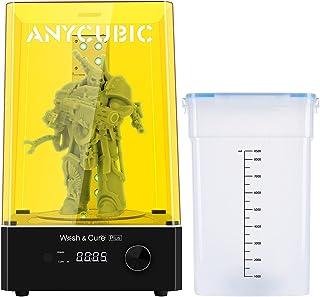ANYCUBIC Wash and Cure Plus - Máquina de lavado y endurecimiento 2 en 1, para impresoras LCD/DLP/SLA 3D, con mesa de endur...