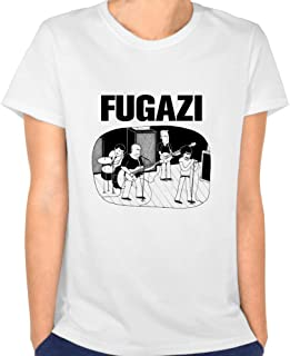 Loly Brand Women's Post Hardcore Band Fugazi Repeater Turnover Funny Short-Sleeve T-shirt L