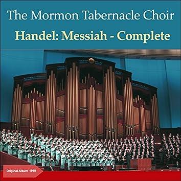 Handel: Messiah, Oratorio, HWV 56 (Original Album 1959)