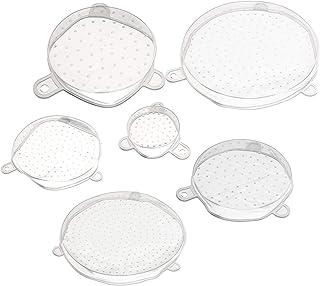 MYAMIA 6 Pcs/Ensemble Stretch Réutilisable Bol en Silicone Wraps Food Saver Cover Seal Cuisine Conteneur De Stockage