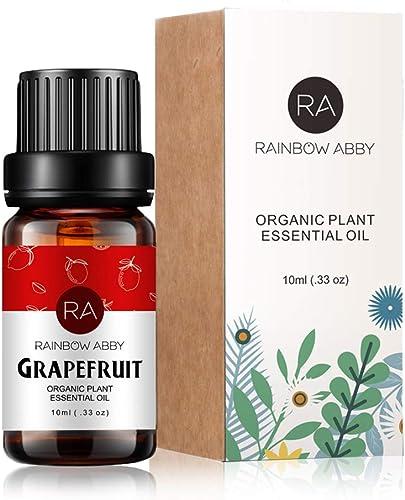 Grapefruit Essential Oil 100% Pure, Aromatherapy Therapeutic Grade Essential Oil for Diffuser, 10ML