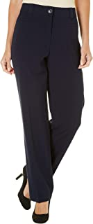 Womens Bi-Stretch No Gap Pants 16W Short
