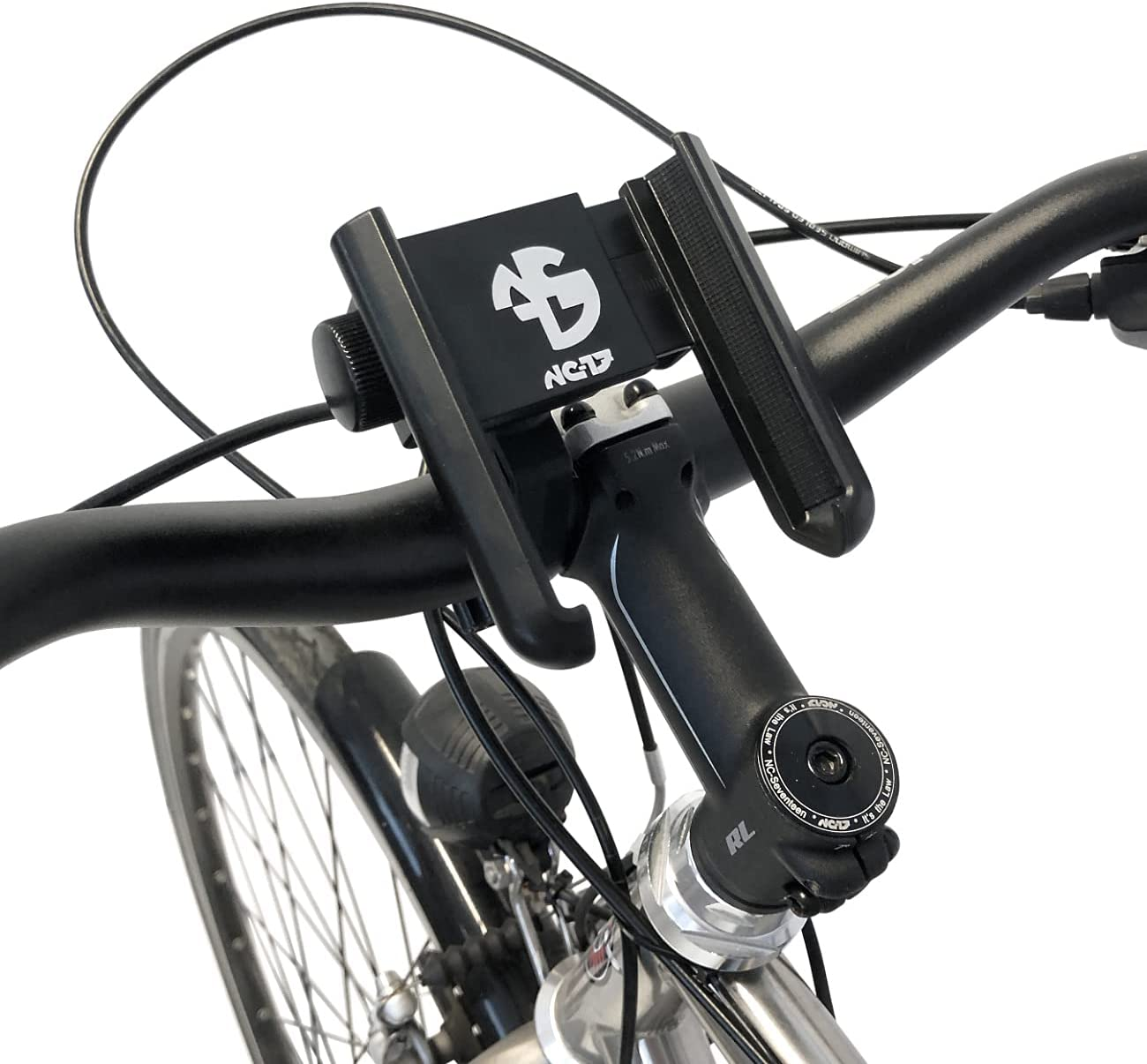 NC-17 3D One-Click Mount specialty shop El Paso Mall for and Mo Smartphone Handlebar