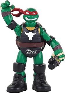 Teenage Mutant Ninja Turtles Ninja Super Stars: Raph as The Rock Figure,91893