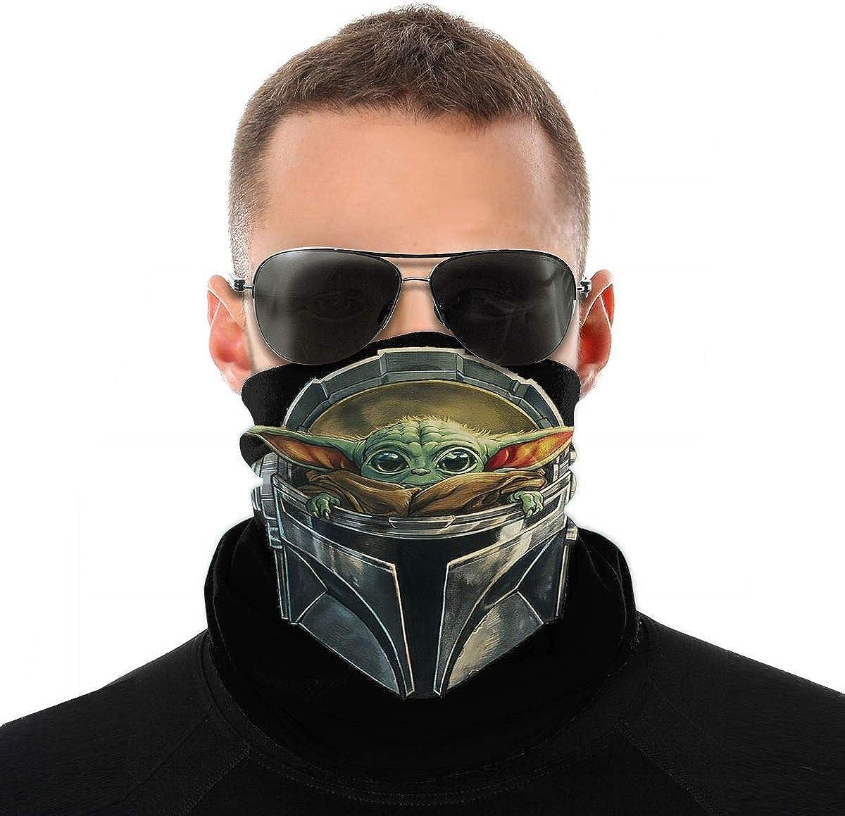 Derberha Baby Yoda Classic Direct stock discount Bandana Face Mask Balaclava Headwrap Max 50% OFF