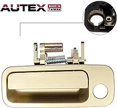 AUTEX Door Handle Gold Exterior Front Left Driver Replacement Compatible with Toyota Camry 1997 1998 1999 2000 2001 (Built in Japan) 79426CD, 69220-AA010, 69220AA010 6922033041C0