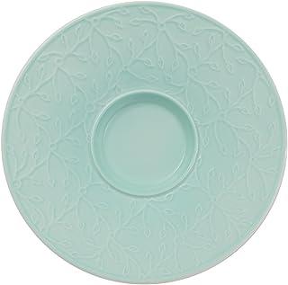 Blanco//Turquesa Villeroy /& Boch Caff/è Club Floral Touch of Ivy Taza de caf/é 200 ml Porcelana Premium