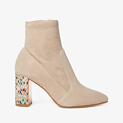 Sophia Webster Toni Ankle Boot (Taupe/Multi Crystal) Women