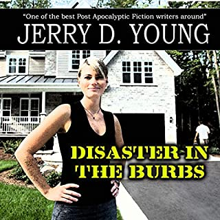 Disaster in the 'Burbs audiobook cover art