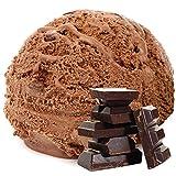 Bitterschokolade Geschmack 1 Kg Gino Gelati Eispulver Softeispulver für Ihre