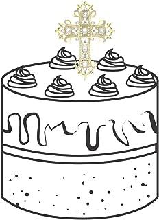 Best cross cake decoration Reviews