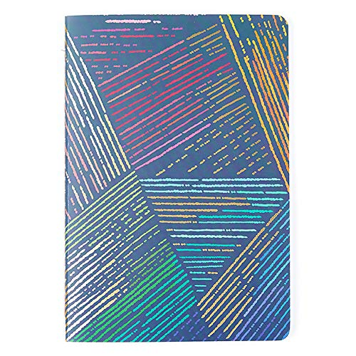 Erin Condren Designer Petite Journal 5.75' x 8.25' with Lined Pages - Colorful Woven Wonder. Great for Taking Notes, Creative Writing, Journaling, and More