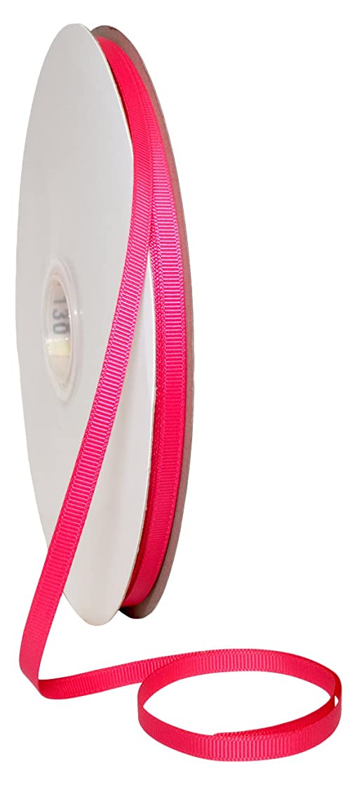 Morex Ribbon 06606/00-175 Grosgrain Fabric Ribbon, 1/4