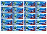 Vicks Vapodrops Candy Cough Relief Cherry Flavor Cough Suppressant and Oral Analgesic - 20 Packs of 20 Drops Each (Total 400 Menthol Drops) - Tj10
