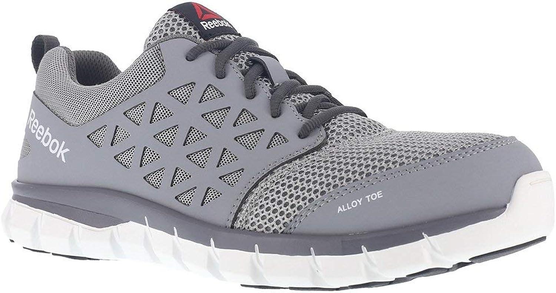 Reebok Sublite Cushion shoes Men's Work 7.5 Grey