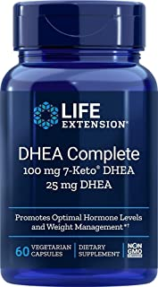 Life Extension DHEA Complete, Vegetarian Capsules, 60-Count