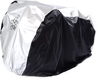 Viaky 2 Bicycle Cover Two Cycle Mountain Bike/Road Bike Rain Cover Outdoor Waterproof and Anti Dust Rain UV Protection
