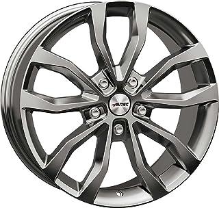 4 complete winterwielen Uteca 8,5x19 ET 48 5x114,3 titanium zilver met 235/55 R19 105V Nexen Winguard Sport 2 XL M+S 3PMSF