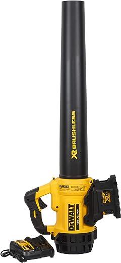 Dewalt DCM562P1 Accu-blazer, 18 V, 5,0 Ah, borstelloos, 145 km/u luchtsnelheid, geluidsarm design, voor continu gebruik, incl. accu en systeemsnellader