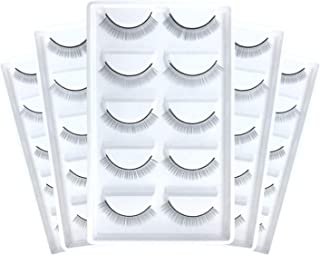 LANKIZ Training Lashes for Eyelash Extensions, Self-adhesive Practice Lashes Strip for Teaching Lashes Eyelash Extension Supplies