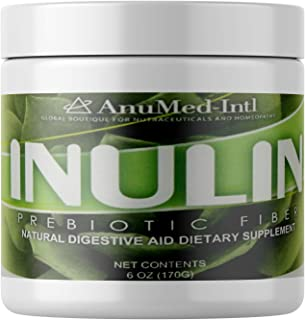 Inulin Prebiotic Fiber Premier Booster Powder. Superior for Healthy Digestive, Leaky Gut, Ease Gas Support, Essential Prob...