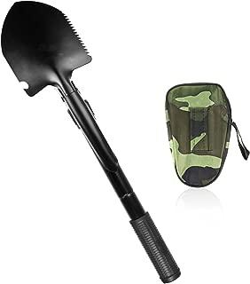 Army Folding Spade Savfy ® Pelle pioche pliante de métal
