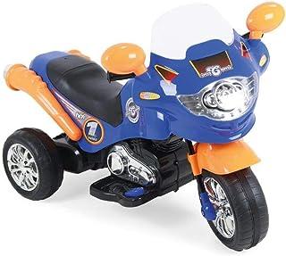 Moto Elétrica Speed Chopper Azul Homeplay