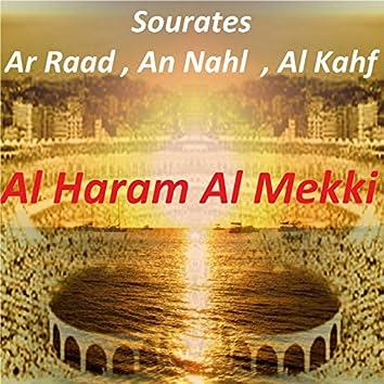 Sourates Ar Raad, An Nahl, Al Kahf (Quran)