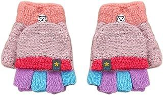 Vêtements et accessoires pour bébé Casual Tricot Chaud Mitaines Multicolore Imprimé Hot Gants Pour Bébé Filles et Garçons