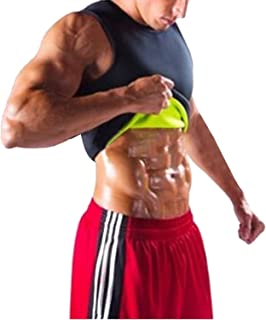 Quick-Dry Tops, Slimming Suit Corset Fitness T-Shirt Men Women Short Sleeve Rubber Bodybuilding Running Sport Shirt