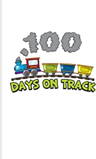 100 Days On Track: 100 Days Of School Poem Journal For Projects, Ideas, Elementary And Primary School Kids Parents, Teache...
