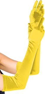 Leg Avenue Women's Long Satin Gloves
