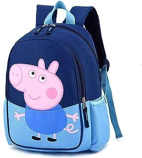 ERHU-ChildrenBackpack Mochila Peppa Pig-George, Mochila de