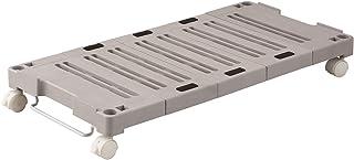 天馬(Tenma) 伸縮式 キャリーボード ベージュ 幅37×奥行54-76×高さ11cm PRX ピタッと伸びるんキャリー 1台入