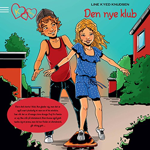 Den nye klub (K for Klara 8) audiobook cover art