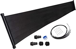 SunQuest 1-2'X20' Solar Swimming Pool Heater with Roof/Rack Mounting Kit