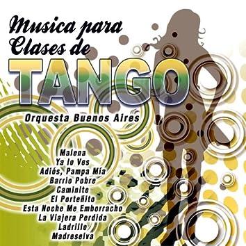 Música para Clases de Tangos