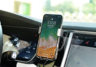 Car Wireless Charger Air Vent Mount Phone Holder Phone Stand,10W Charge for Samsung Galaxy S8 S7/S7 Edge,Note 8 Note 5, Standard Charge for iPhone X, i8 i8Plus and Qi Enabled Devices