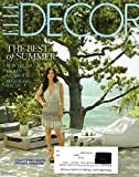 Elle Decor the Best of Summer July / August 2011 (Cover) Courteney Cox s Private Paradise