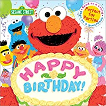 Happy Birthday!: A Birthday Party Book (Sesame Street Scribbles)